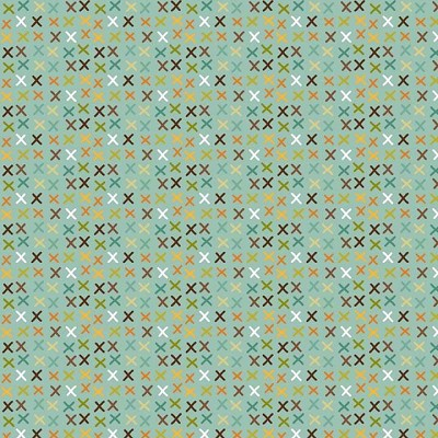 Riley Blake Designs - Giraffe Crossing - Tic-Tac in Teal