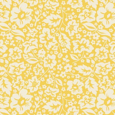 Riley Blake Designs - The Sweetest Thing Floral in Yellow