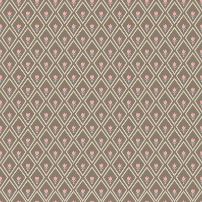 Riley Blake Designs - To Norway with Love Diamond in Brown