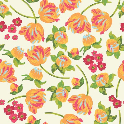 Riley Blake Designs - Floribella Main in Yellow