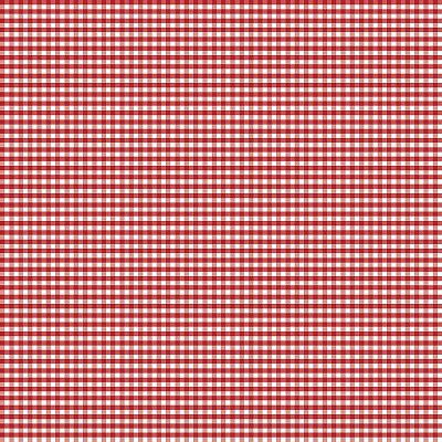 Riley Blake Designs 1/8 Inch Small Gingham in Red
