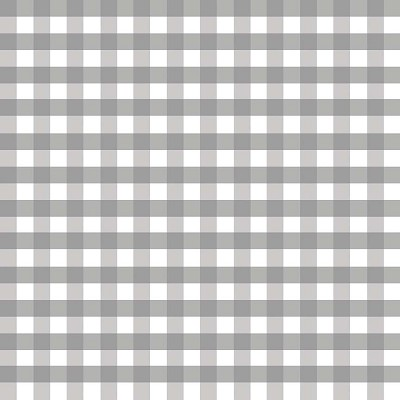 Riley Blake Designs - 1/2 Inch Large Gingham in Gray