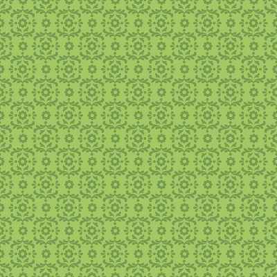 Riley Blake Designs - Summer Song 2 - Damask in Green