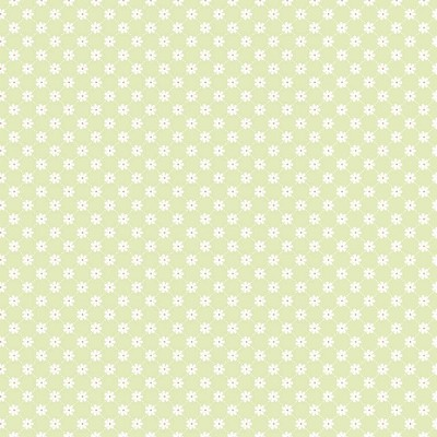 Riley Blake Designs - Dream and a Wish - Lattice Daisy Dot in Green
