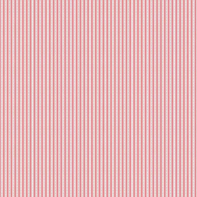 Riley Blake Designs - Backyard Roses - Stripe Pink