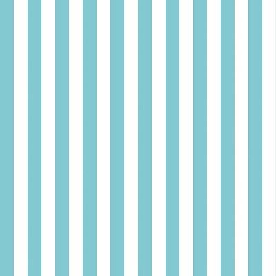 Riley Blake Designs - Cotton Stripes - Half Inch - Aqua
