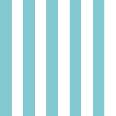 Riley Blake Designs - Cotton Stripes - One Inch - Aqua