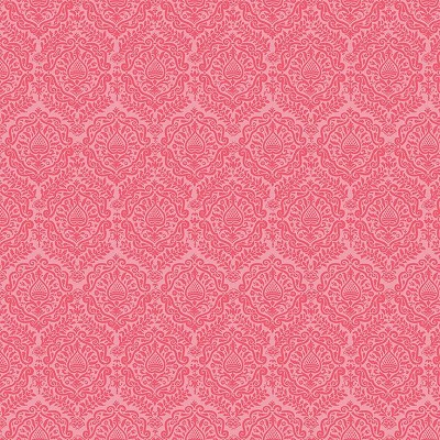 Riley Blake Designs - Garden Girl Damask Raspberry
