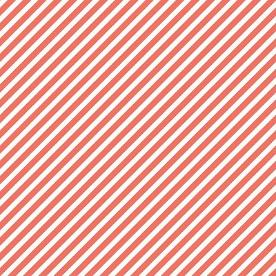 Riley Blake Designs - On Trend Diagonal Stripe in Coral