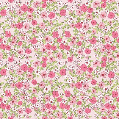 Riley Blake Designs - Wonderland 2 Floral in Pink