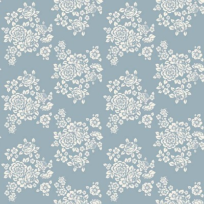 Penny Rose Fabrics - Anne of Green Gables - Bouquet Blue
