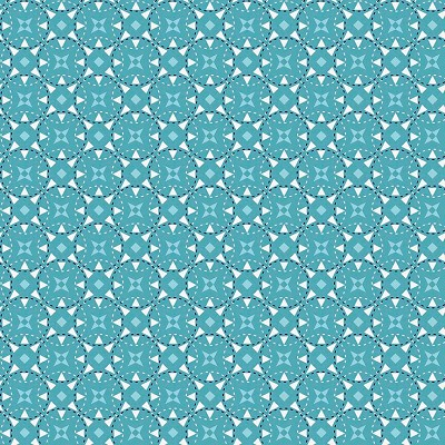 Riley Blake Designs - JuxtaPosey Star Aqua