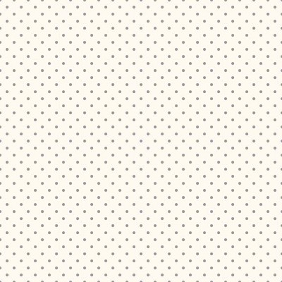 Riley Blake Designs - Swiss Dot Grey on Cream