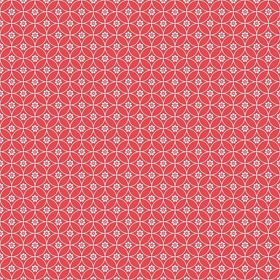 Riley Blake Designs - Daisy Days - Chain Red