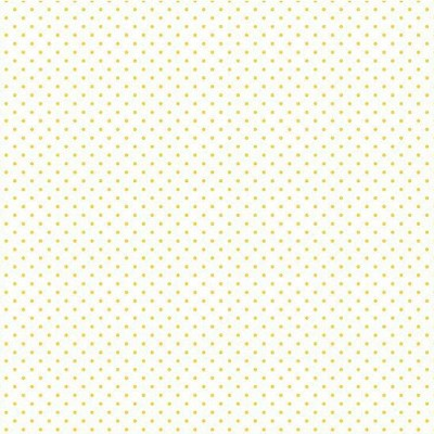 Riley Blake Designs - Swiss Dot Yellow on White