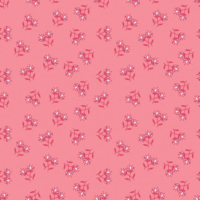 Riley Blake Designs - Flora & Fawn Floral Pink