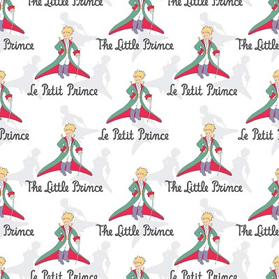 Riley Blake Designs - The Little Prince Title White