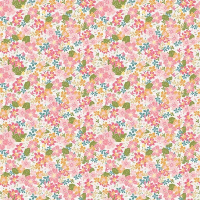Riley Blake Designs - Grandale Floral Cream