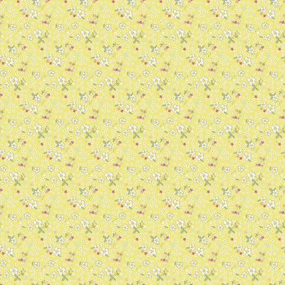 Riley Blake Designs - Serendipity Fleuri in Yellow
