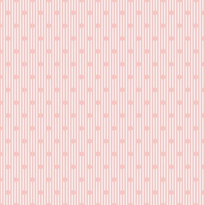 Penny Rose Fabrics - Sweet Stems Dot in Pink