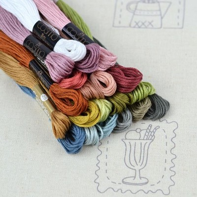 Cosmo Thread Pack for Heartstrings Quilt *** MORE ARRIVING SOON - SIGN UP TO THE WAITING LIST ***