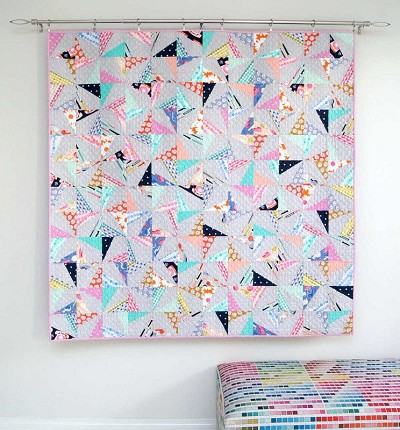 Tied With A Ribbon - Confetti Quilt Pattern