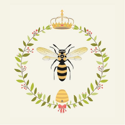 The Devonstone Collection Queen Bee Large Wreath