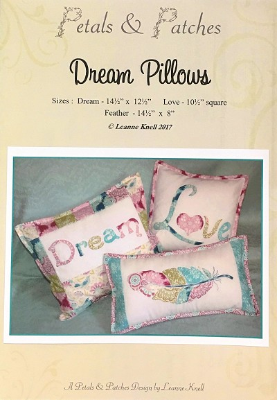 Petals and Patches - Dream Pillows Pattern