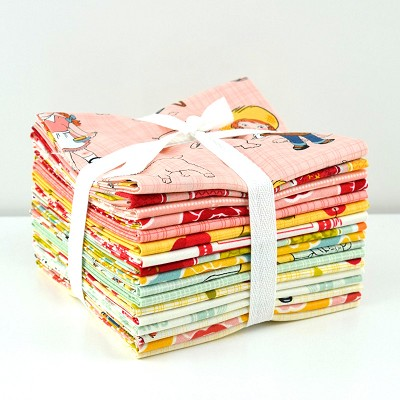 Riley Blake Designs - Farm Girl - Fat Quarter Bundle of 17 Pieces