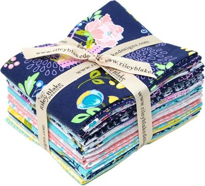 Riley Blake Designs - Lulabelle - Fat Eighth Bundle of 15 fabrics