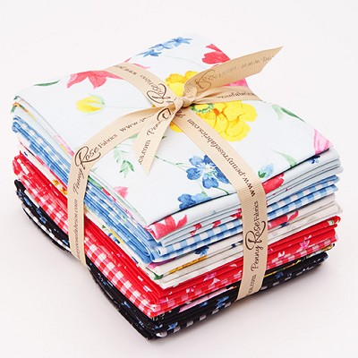 Penny Rose Fabrics - Afternoon Picnic - Fat Quarter Bundle of 19 Pieces