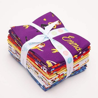 Riley Blake Designs The Wiggles Ready Steady Wiggle! - Fat Quarter Bundle of 15 Pieces