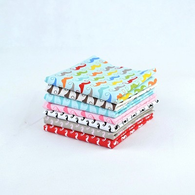 Riley Blake Designs Geekly Chic Fat Quarter Bundle of 7 pieces