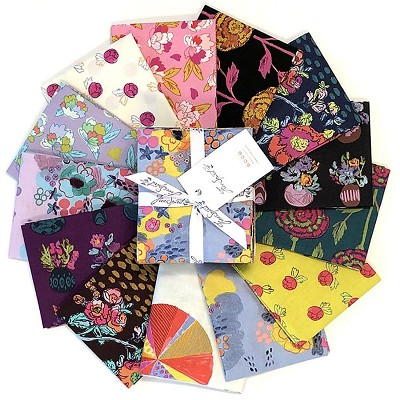 Anna Maria's Conservatory Chapter Four Flower Market Fat Quarter Bundle of 12 Pieces