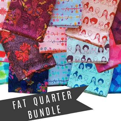 Anna Maria's Conservatory Chapter Two Long Distance Fat Quarter Bundle of 15 Pieces
