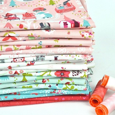 Riley Blake Designs - Little Red in the Woods - Half Metre Bundle of 21 Pieces