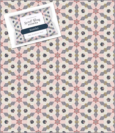 Sue Daley Designs - Hamlet Quilt Pattern, Template and Paper Pieces Pack