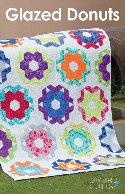 Jaybird Quilts Glazed Donuts Quilt Pattern