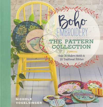 Boho Embroidery - The Pattern Collection Book by Nichole Vogelsinger