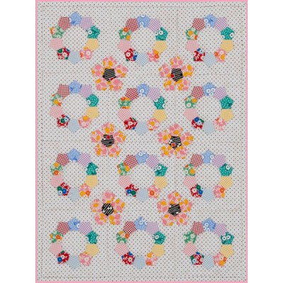 Sue Daley - Ringlets Little Things Wall Hanging Pattern and Template Pack