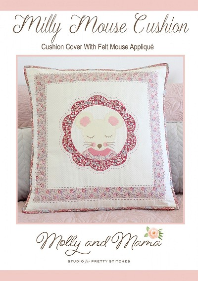 Milly Mouse Cushion Pattern by Molly and Mama