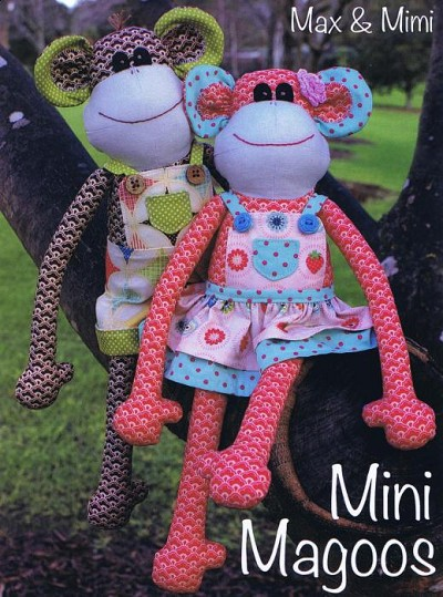 Melly and Me - Mini Magoos Softie Pattern