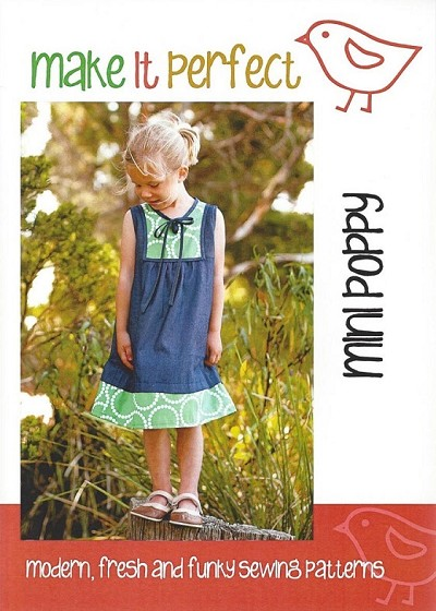 Make It Perfect - Big Mini Poppy Tunic Pattern Size 6yrs-10yrs