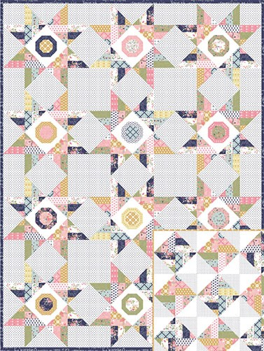 Keera Job Wildflowers Quilt Kit