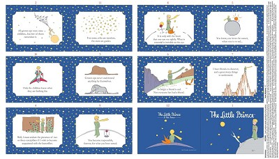 Riley Blake Designs - The Little Prince Book Panel