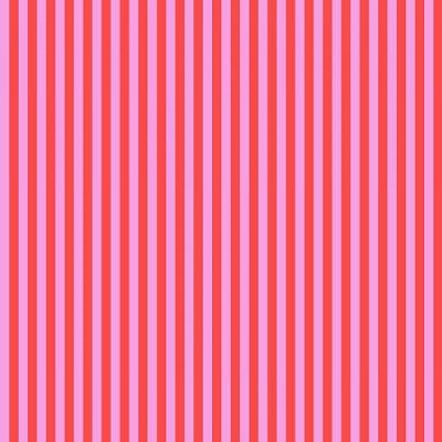 Freespirit Fabrics - Tula Pink - ALL STARS - Tent Stripe - Poppy