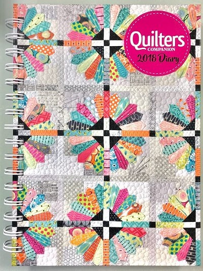Quilters Companion 2018 Diary - Hard Cover Book