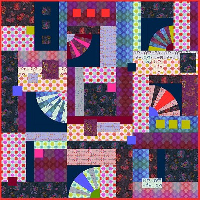 Anna Maria Horner Conservatory Chapter 2 Long Distance Quilt Kit