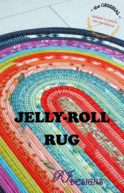 RJ Designs - Jelly Roll Rug
