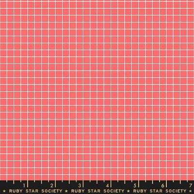 Ruby Star Society Grid in Strawberry